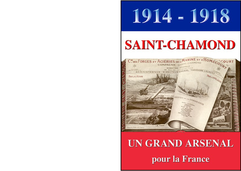 Livre Saint Chamond Un Grand Arsenal pour la France
